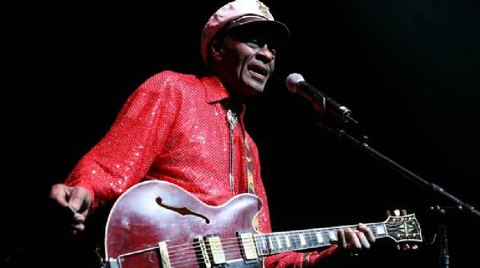 Chuck Berry died of natural causes: report