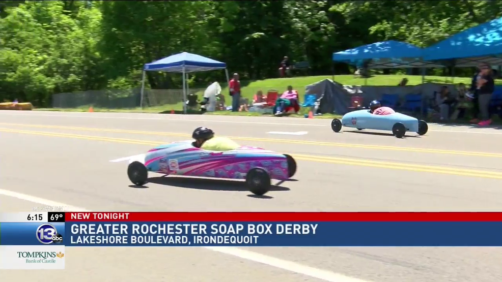 Thrill on a hill: Soap Box Derby draws youngest racers | WHAM