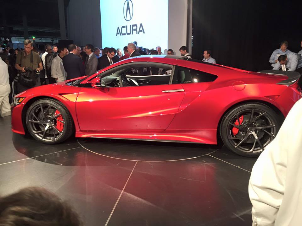 honda unveils high performance luxury sports car starting at 156k wjla. Black Bedroom Furniture Sets. Home Design Ideas