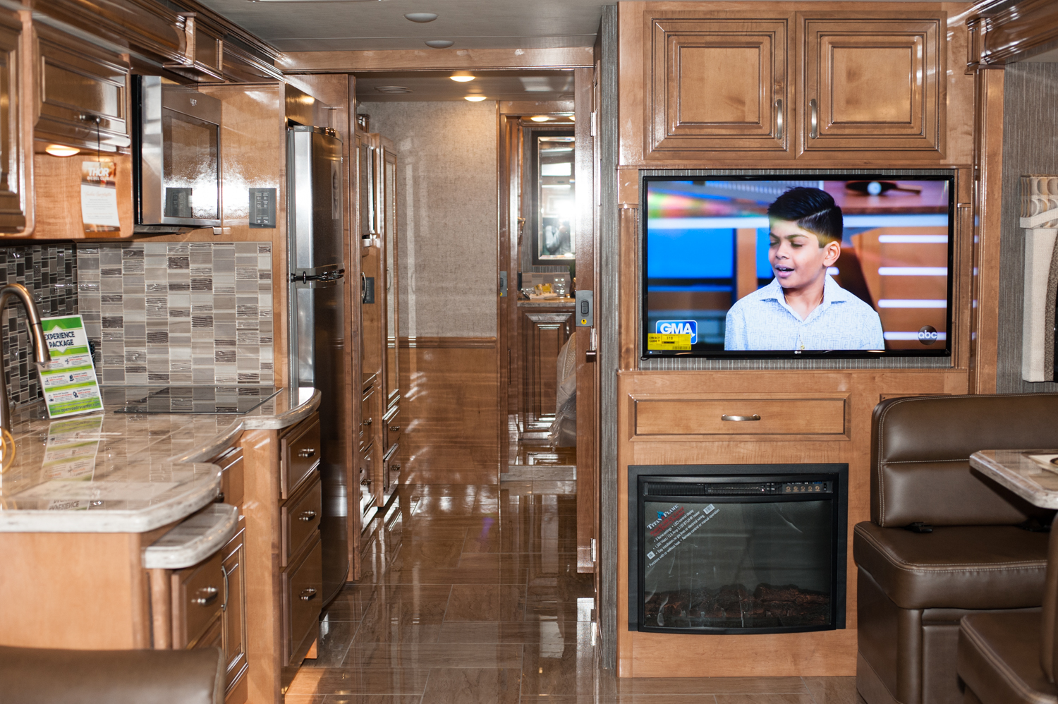 $317, 900 - Thor Mortor Coach, Inc's 2019 Aria 3901. The Tacoma RV Show is happening this weekend (Jan. 17-20) at the Tacoma Dome, with hundreds of RV's on display and more than 100 brands at the show. Since we are Seattle 'Refined' - you know we had to check out the most expensive, swankiest vehicles at the show! (Image: Elizabeth Crook / Seattle Refined)