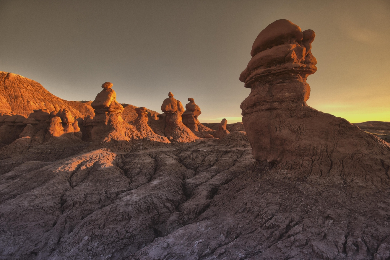 Goblin Valley Sunrise Wide