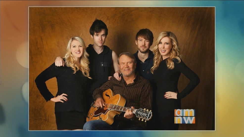 "Glen Campbell's Family Shares His New Album, ""Adios"""