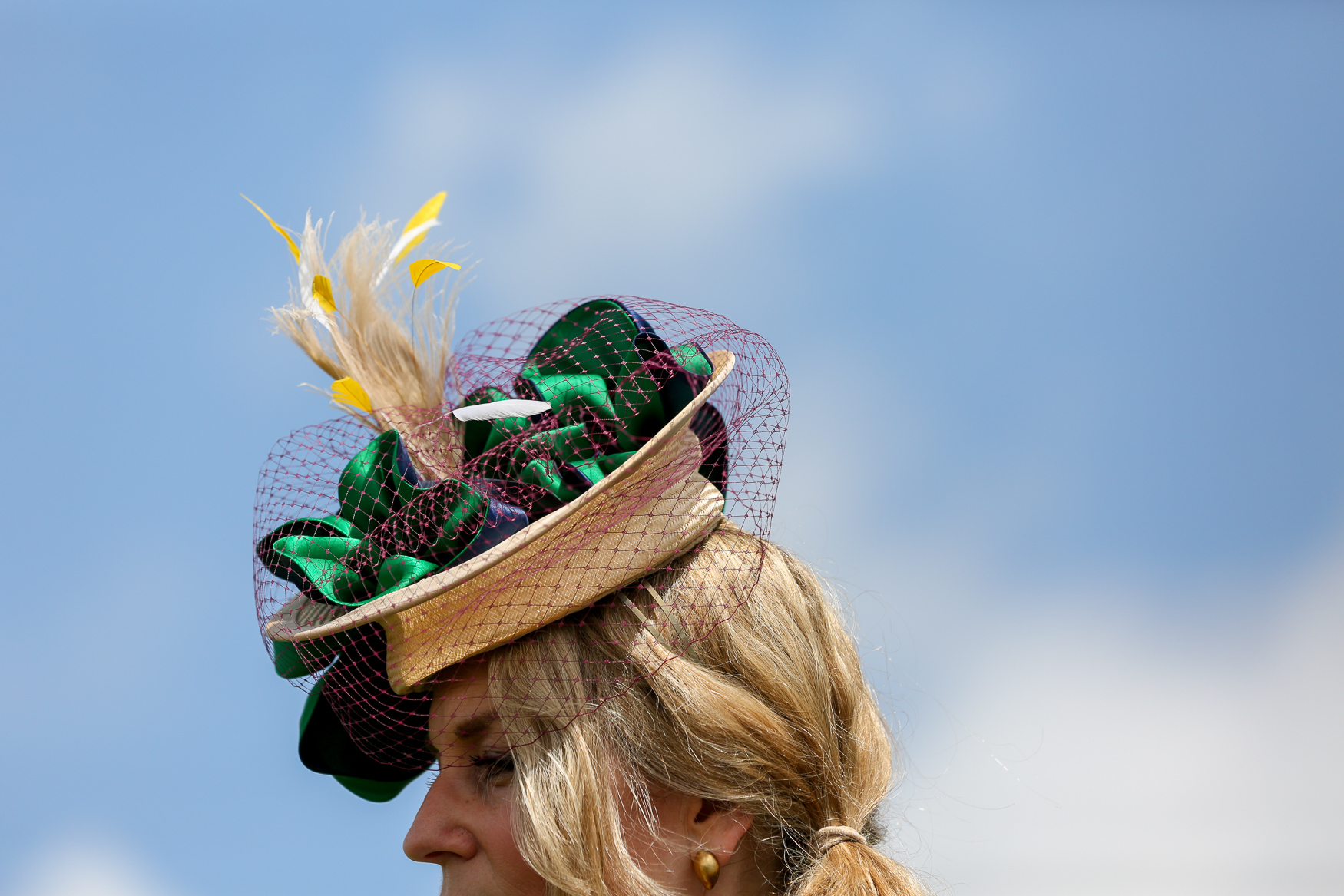 The Virginia Gold Cup is supposed to be about horse racing, but the real competition is the hat contest. Here are some of the stand out entries from 2019. (Amanda Andrade-Rhoades/DC Refined)<p></p>