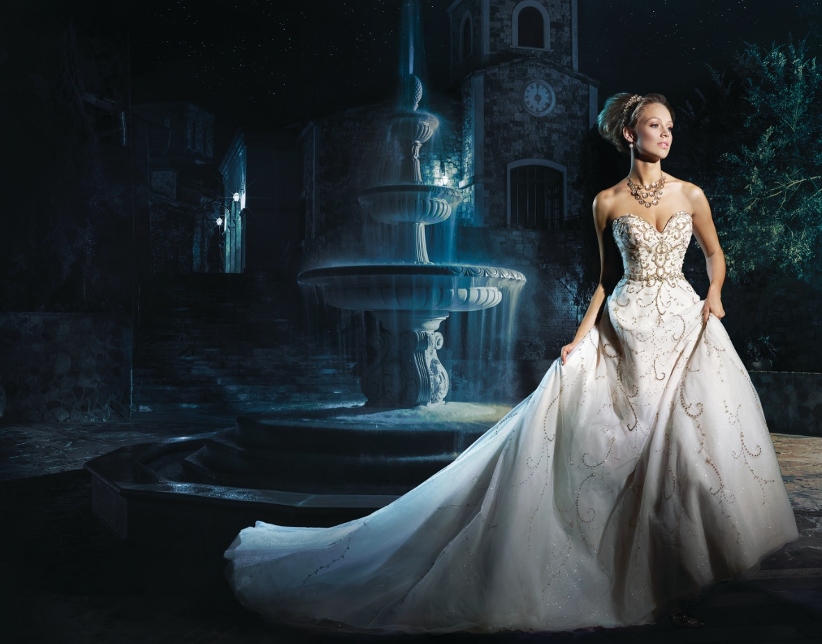 you've even dreamed of looking like a Disney princess on your wedding ...