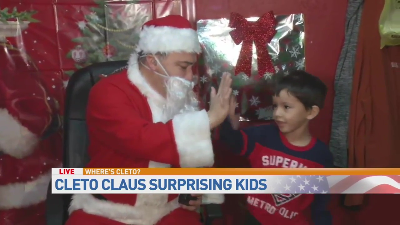 Cleto Claus sighting at Kid Kountry Day Care!