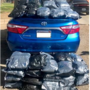 Woman arrested for transporting 107 pounds of marijuana