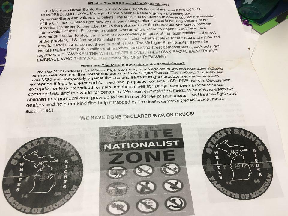 A Saginaw County man feels violated after he received a recruitment letter from a white nationalist organization.{ }(Photo: WEYI/WSMH)