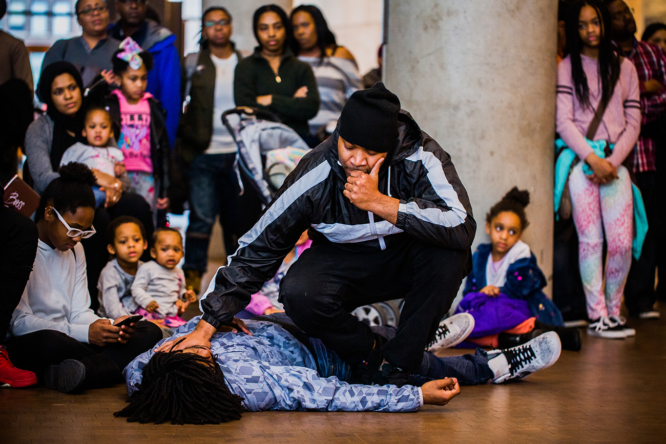 Hip hop youth group Elementz offers creative outlets for inner-city youth. They receive operating support from ArtsWave. / Image: Bergette Photography