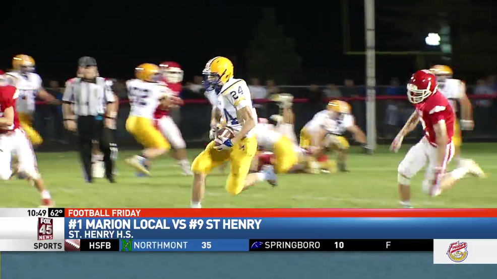 Marion Local defeats St. Henry, Flyers improve to 9-0