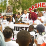 Walk aims to bring answers in Rasheed Baker's death
