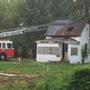 Crews on the scene of abandon house fire in Nedrow