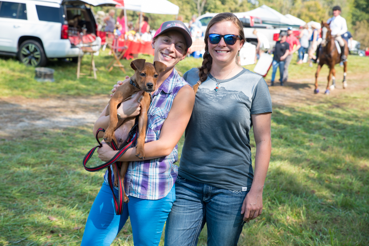 Sarahjane Foltz with Odie and Sarah Trucksis / Image: Sherry Lachelle Photography // Published: 10.7.18<p></p>
