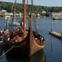 World's largest Viking ship replica docks in Maine