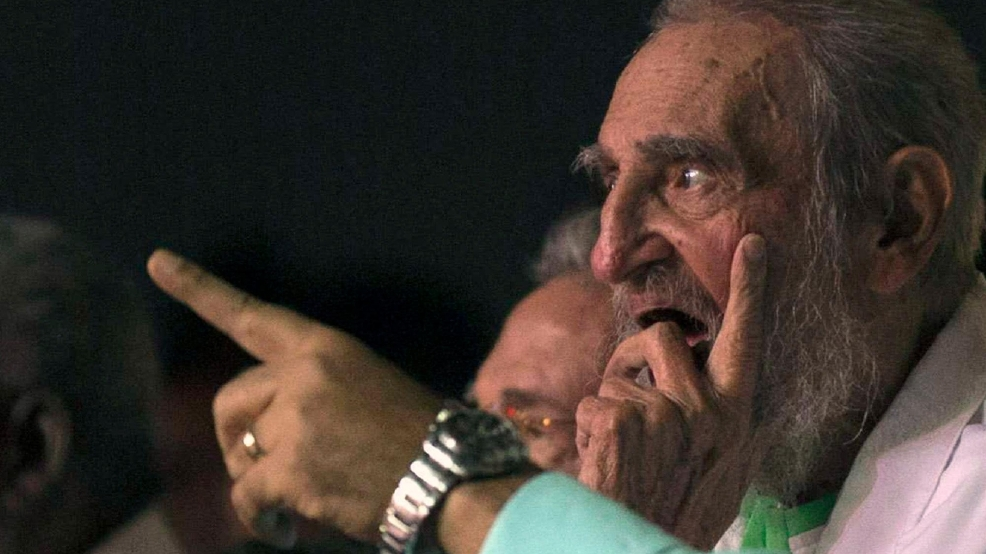 Cuba s former president fidel castro attends a gala for his 90th