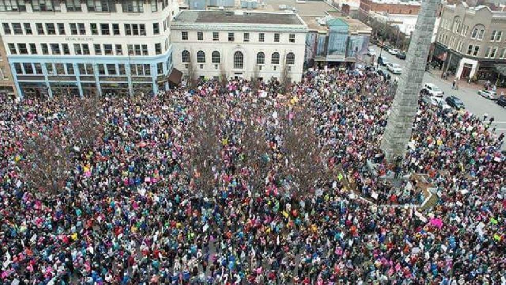 GALLERY | Women's March on Asheville | WLOS