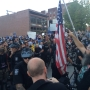 Trump supporters, protesters clash outside Everett rally, 2 arrested