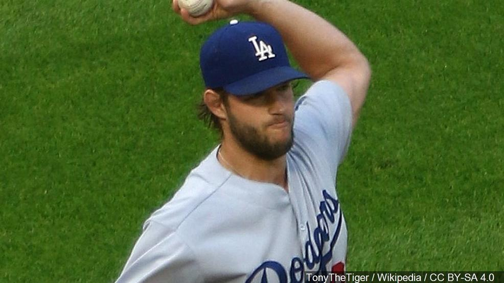 Clayton Kershaw - Los Angeles Dodgers pitcher, Photo Date July 18, 2017 (TonyTheTiger  Wikipedia  CC BY-SA 4.0 MGN).jpg