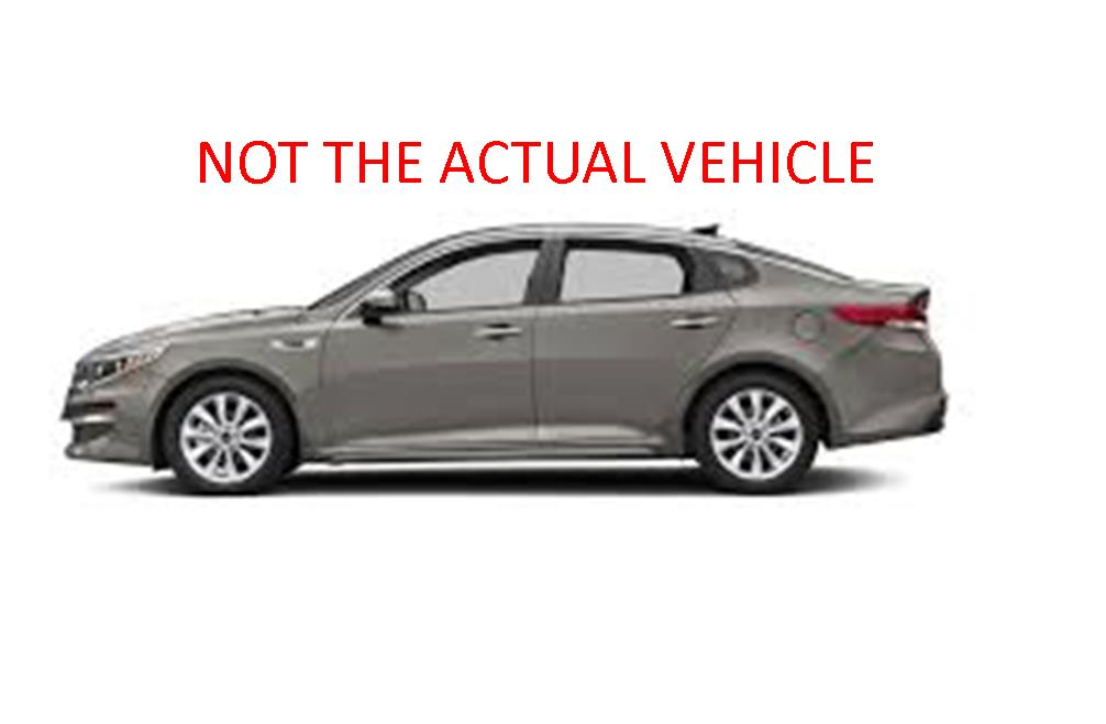 The suspect in the robbery is believed to be driving a Kia Optima similar to the one pictured above. (Photo: LCSO)<p></p>