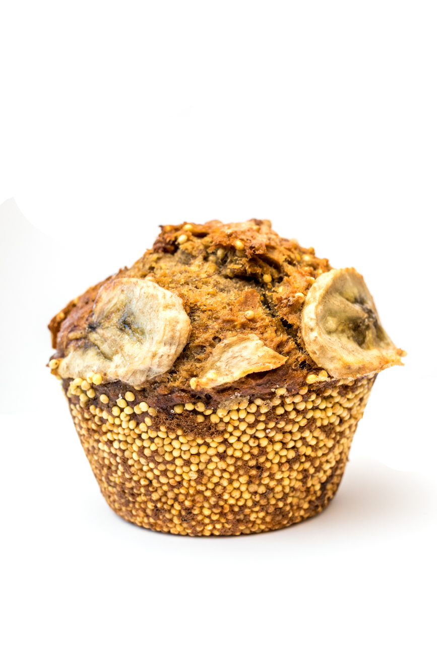 A caramelized banana muffin from Brown Bear Bakery / Image: Catherine Viox{ }// Published: 1.4.20