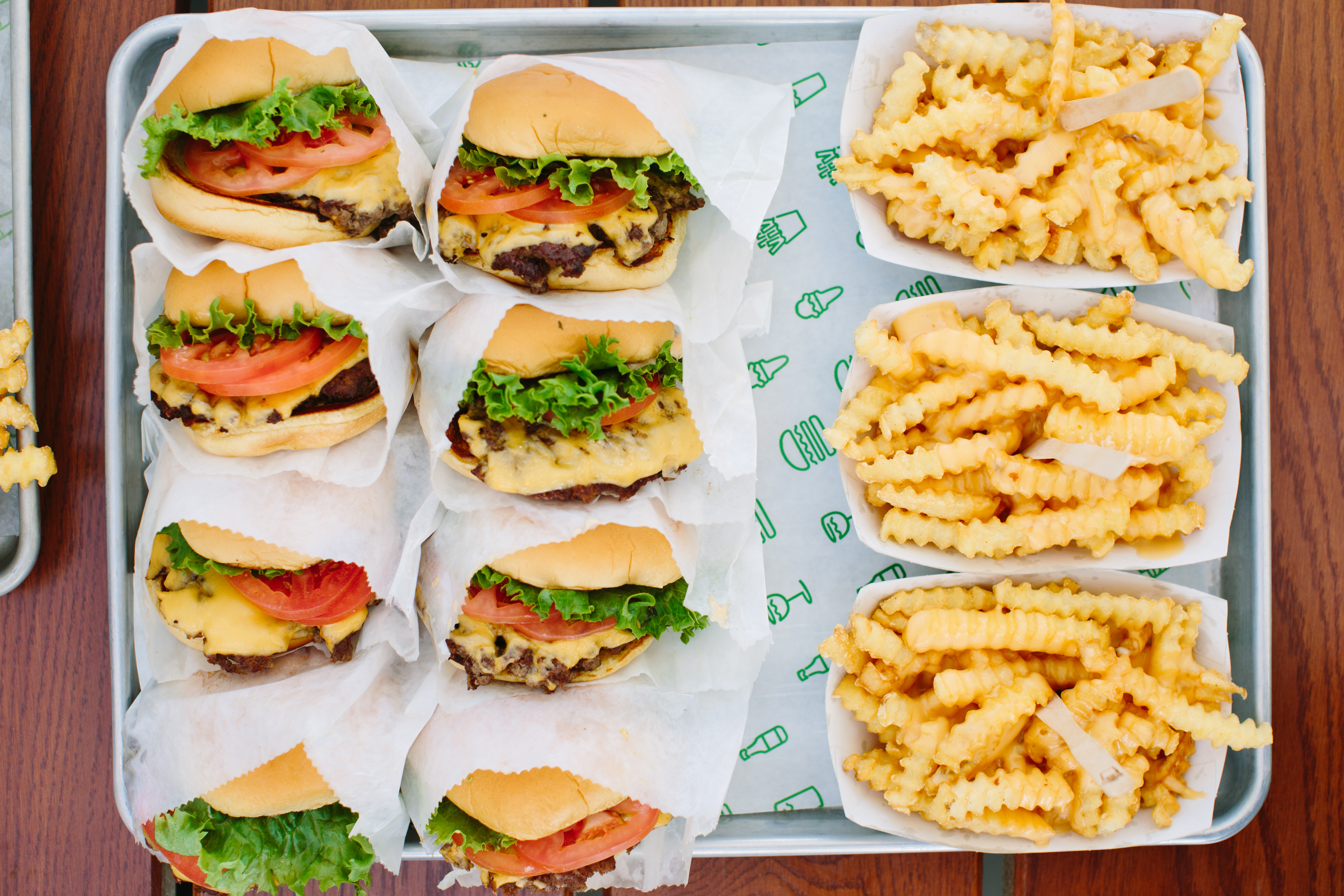 2018 brought us a Shake Shack, and we haven't been able to stop eating it. (Photo Courtesy: Shake Shack)