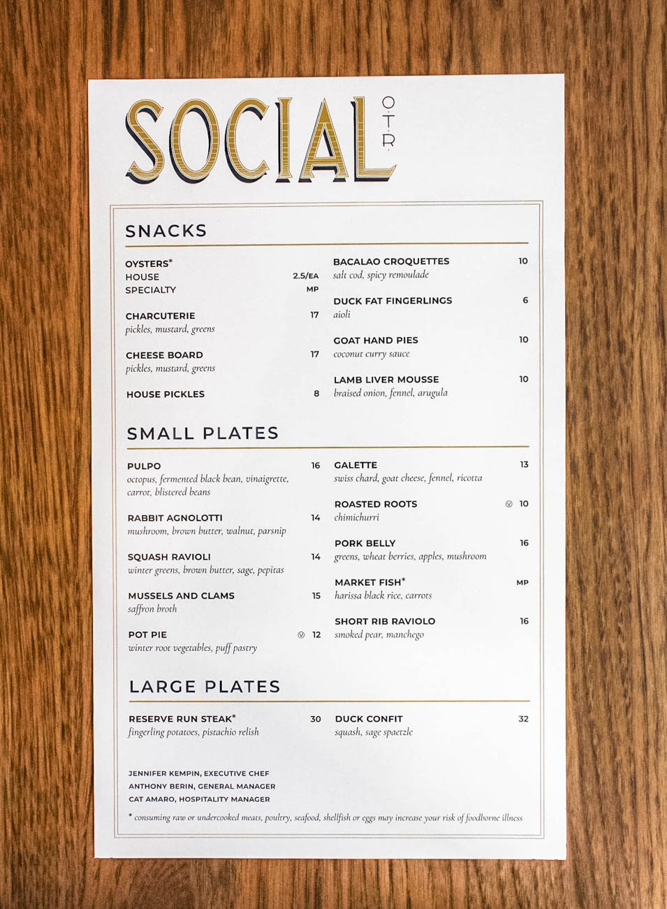 Social OTR is a non-profit restaurant that not only creates high-end dishes, but creates job opportunities and specialized training for people with barriers to employment. It is a part of the Corporation for Findlay Market, a 501(c)(3) non-profit organization. They also partner with CityLink Center, which is a cooperative, social services model on the West End. The restaurant's back of house is staffed from the program and work under Executive Chef Jen Kempin to continue their culinary education with experience in the restaurant. ADDRESS: 1819 Elm Street (45202) / Image: Erin Glass // Published: 3.27.19
