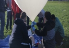 Milford High School Student Filling The Weather Balloon.jpg