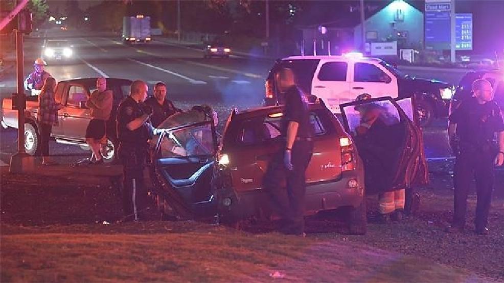 Car Crash Sandy Boulevard