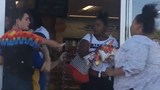 WATCH: Shoplifting fight over Hot Cheetos caught on camera
