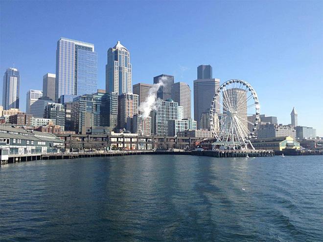 Beautiful Saturday taking the Argosy boat tour of Seattle (Photo Courtesy: Dave Rivera)