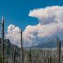 Fire on Mount Jefferson triples in size, pumping more smoke into the air