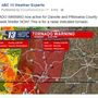 Tornado and straight line wind damage reported