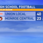 8.25.17 Highlights: Union Local at Monroe Central