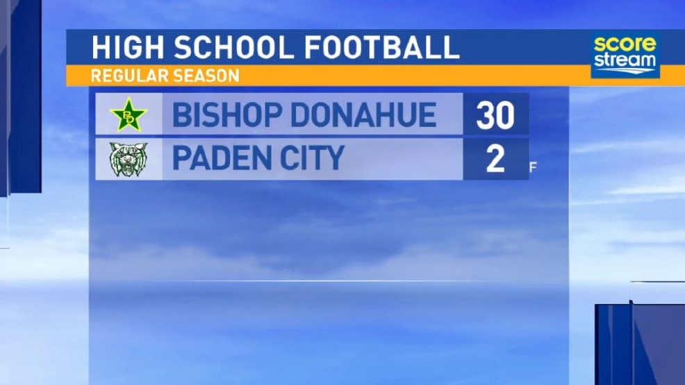10.21.16 Highlights: Bishop Donahue at Paden City