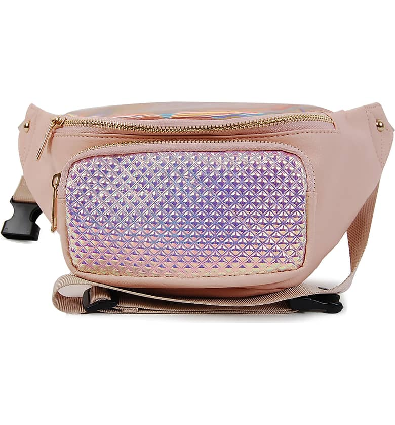 OMG Hologram Belt Bag, $24.{ }Treat the kiddos in your world to something fun! Put a smile on their face with these Nordstrom picks! (Image courtesy of Nordstrom).