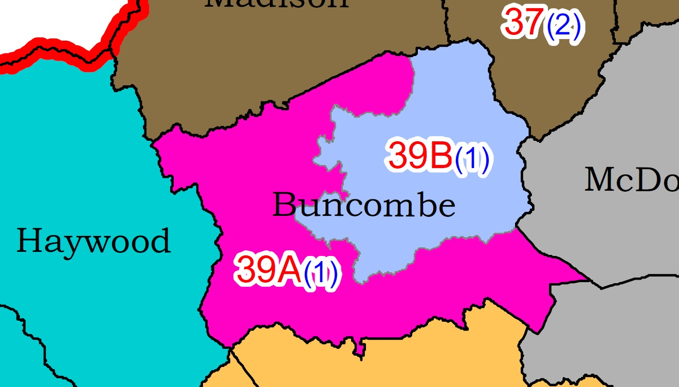 A bill that passed the house splits Buncombe County into two judicial districts. (Photo credit: North Carolina General Assembly)