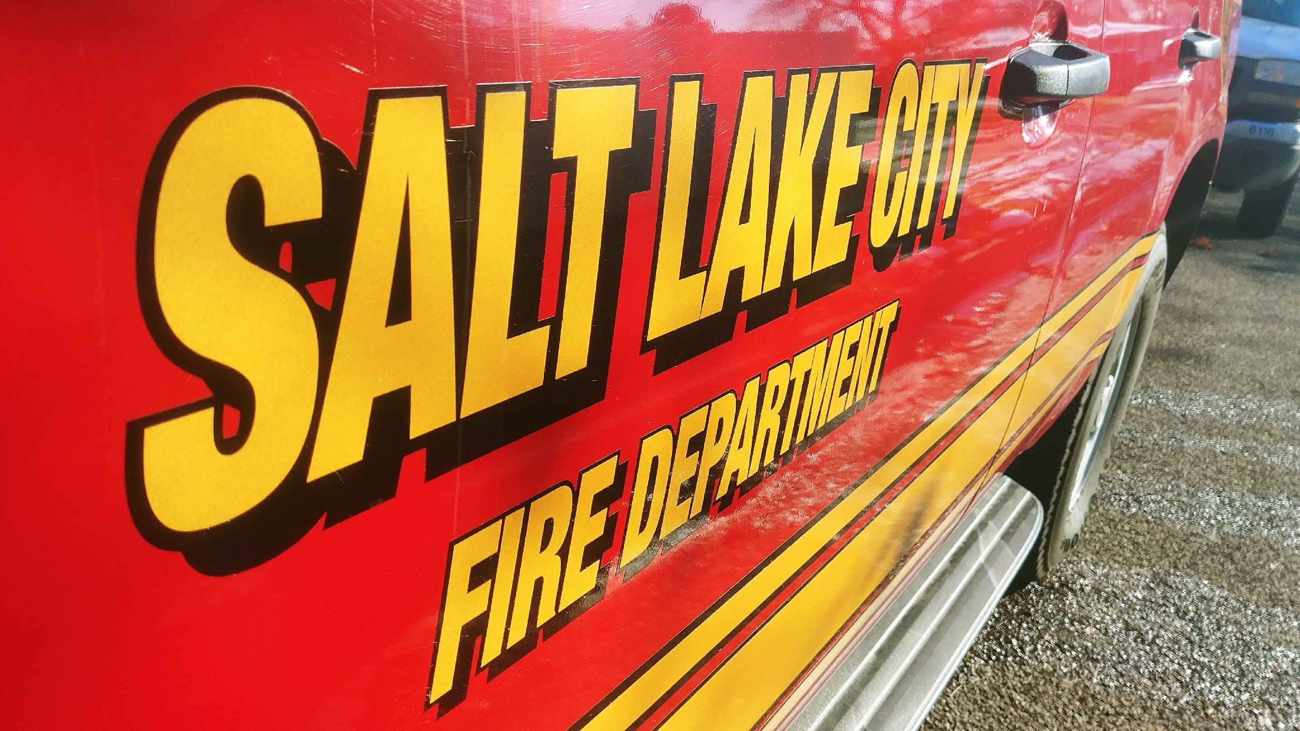Salt Lake Fire Department at a garage fire in Salt Lake City. (Photo: Brian Morris / KUTV)<p></p>