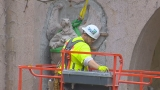 Photos: Seattle Center gargoyles revealed