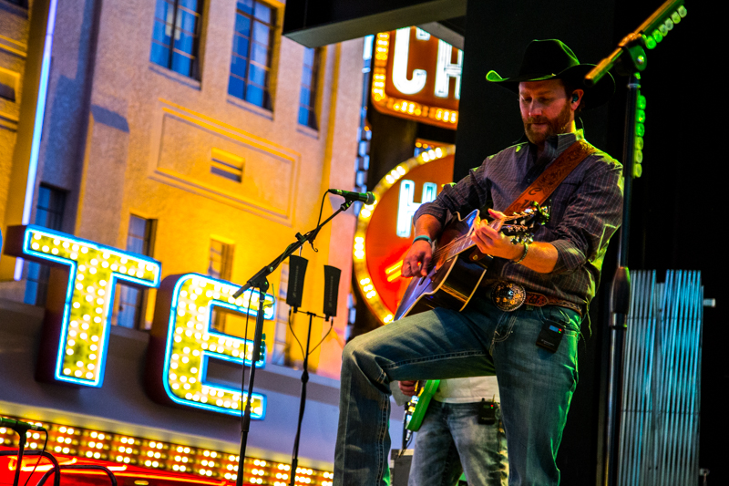 Chancey Williams at Downtown Hoedown at Fremont Street Experience, 12.6.17.jpg