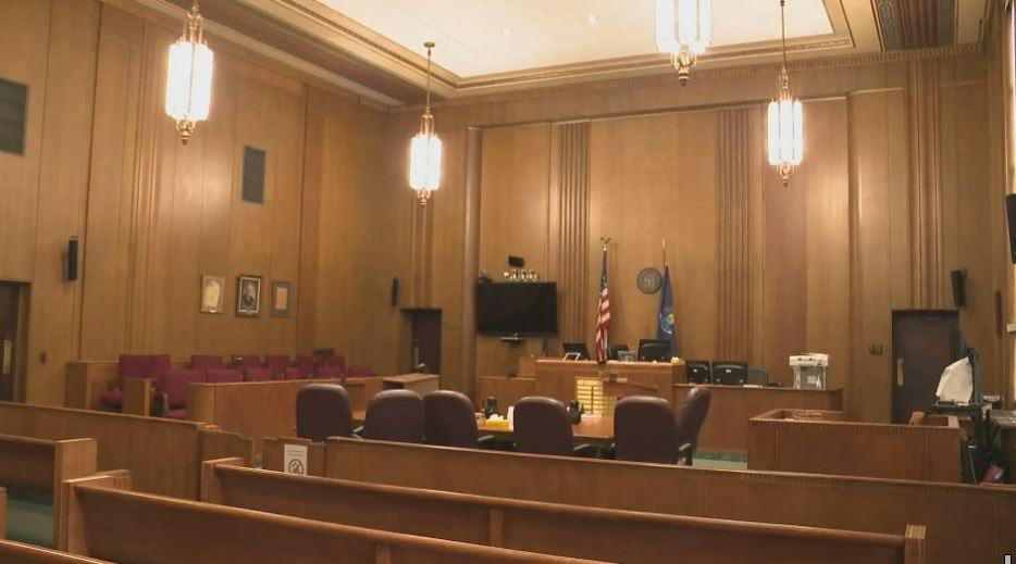 Many West Michigan courtrooms are sitting empty during the COVID-19 crisis. (WWMT/File)