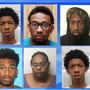 Six charged in burglary at Robeson County gun store