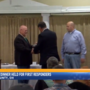 Appreciation dinner held for first responders