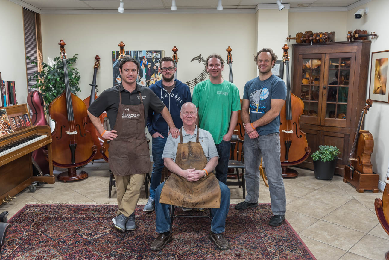 Founder and Owner Paul Bartel with his four sons, Jeremy Bartel, Steven Heck, Jason Bartel, and Brad Paterson / Image: Mike Menke