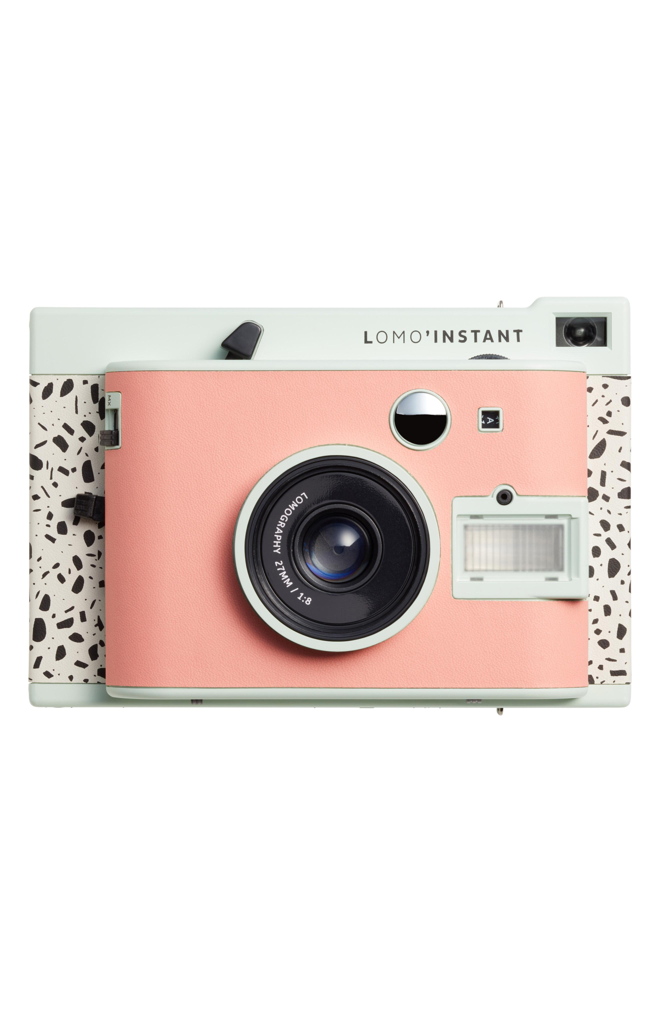 "LOMOGRAPHY LOMO INSTANT MINI MILANO ($129). Nordstrom just launched their Pop-In@Nordstrom called ""GET'S WIRED"" with more than 125 tech products both in store and online. The selection has everything from underwater drones, 3D printers, wireless ear buds, Polaroid cameras, and more. (Image courtesy of Nordstrom)"