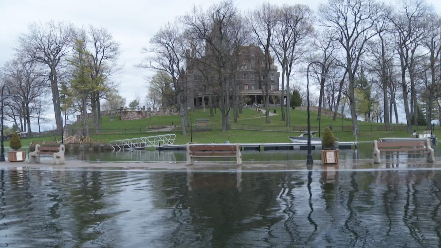 Boldt Castle in the Thousand Islands is pushing back its 2017 opening because of high water levels.