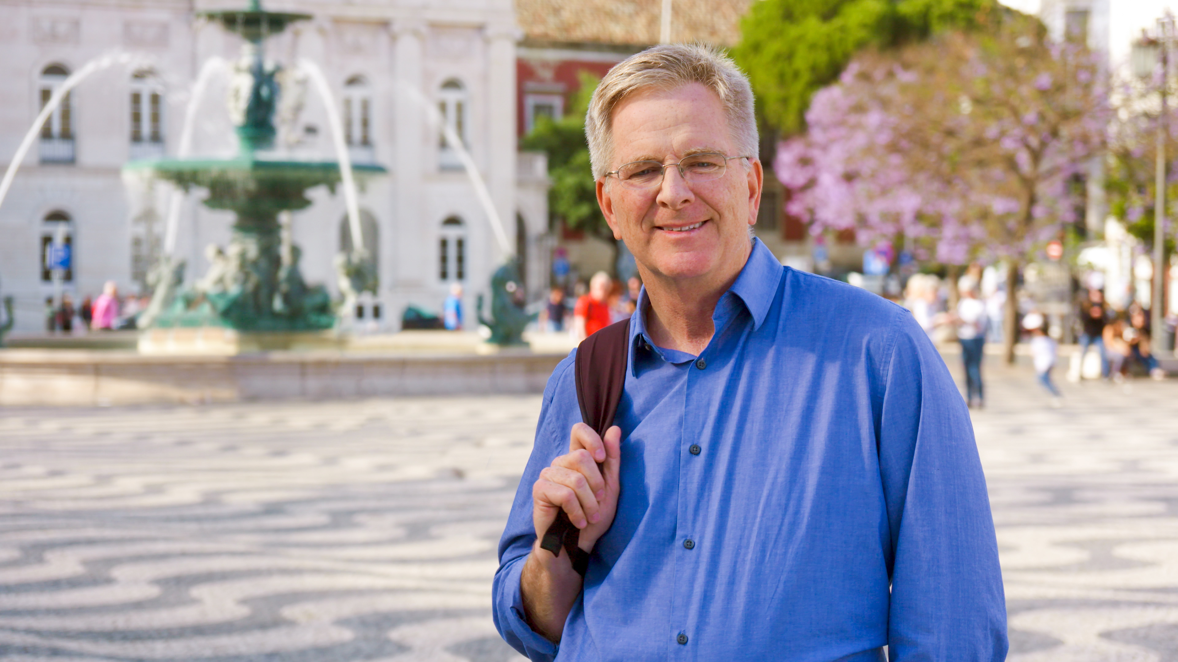 Edmonds native and travel guru Rick Steves may be grounded for now, but he's keeping our travel dreams alive through his 'Daily Dose of Europe,' posts, travel guides and TV shows. (Photo: Rick Steves)