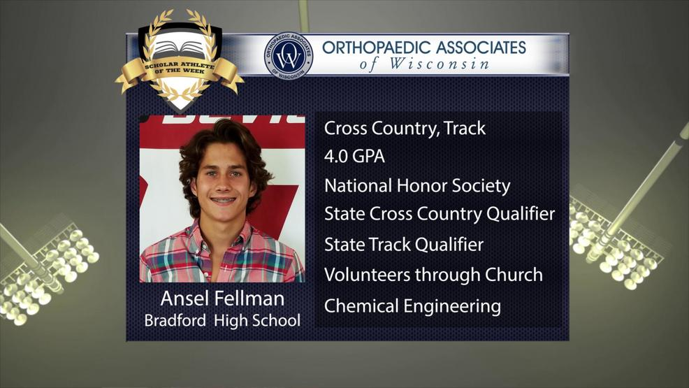 OAW 2017 Scholar Athlete Nominee: Ansel Fellman