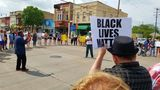 Peaceful protest held for man fatally shot by Appleton officer