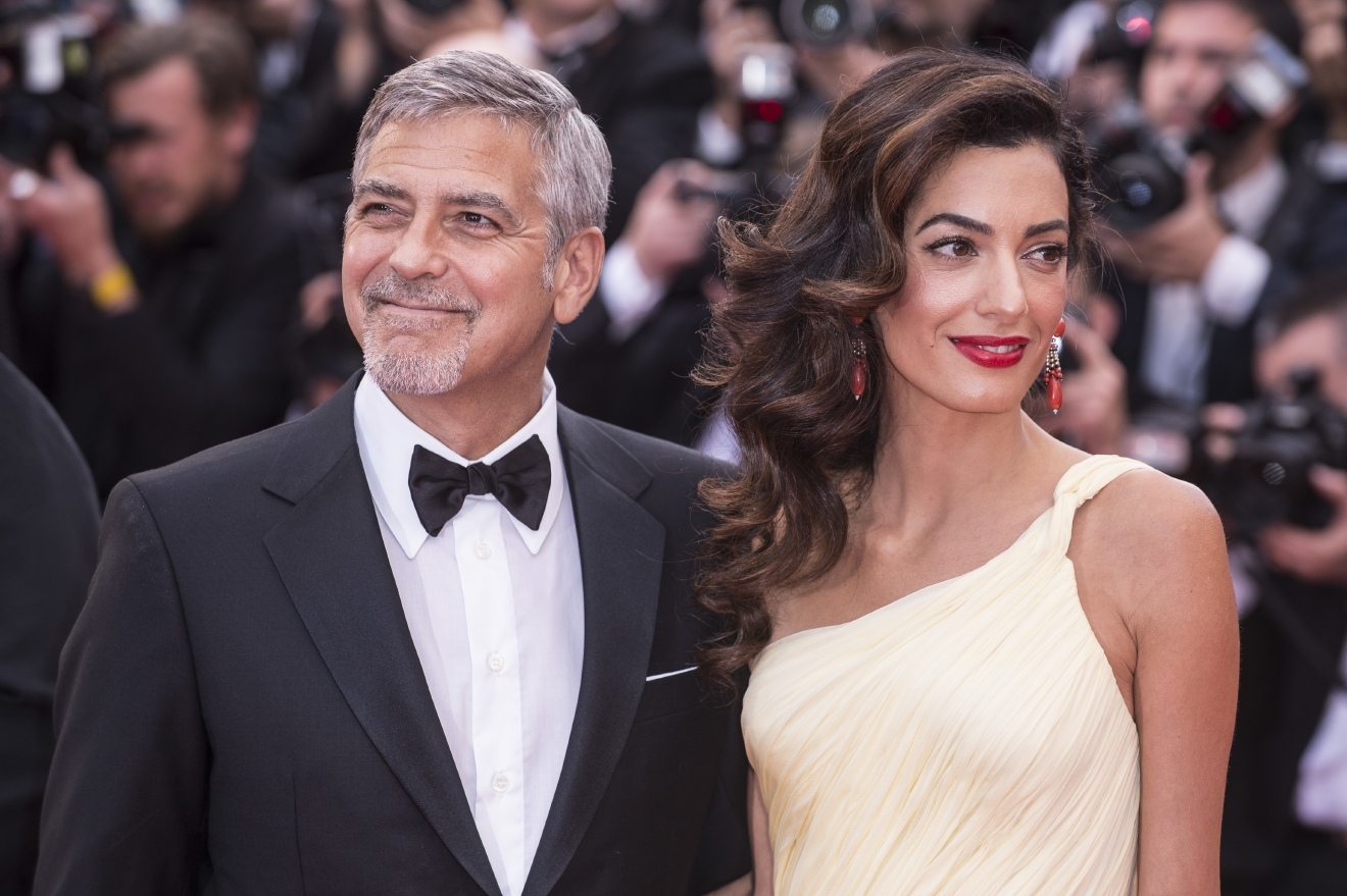 "Actors and celebrities  attends the premiere for ""Money Monster"" at the Palais de Festival for the 69th Cannes Film Festival.  Featuring: George Clooney, Amal Clooney Where: Cannes, France When: 12 May 2016 Credit: Euan Cherry/WENN.com"