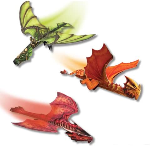 Paper Flying Dragons{ }($13.29) Paper dragons! That really fly! This hands-on book from Klutz is the perfect merger of a craft project and aerodynamic lesson.{ }(Image: Amazon)