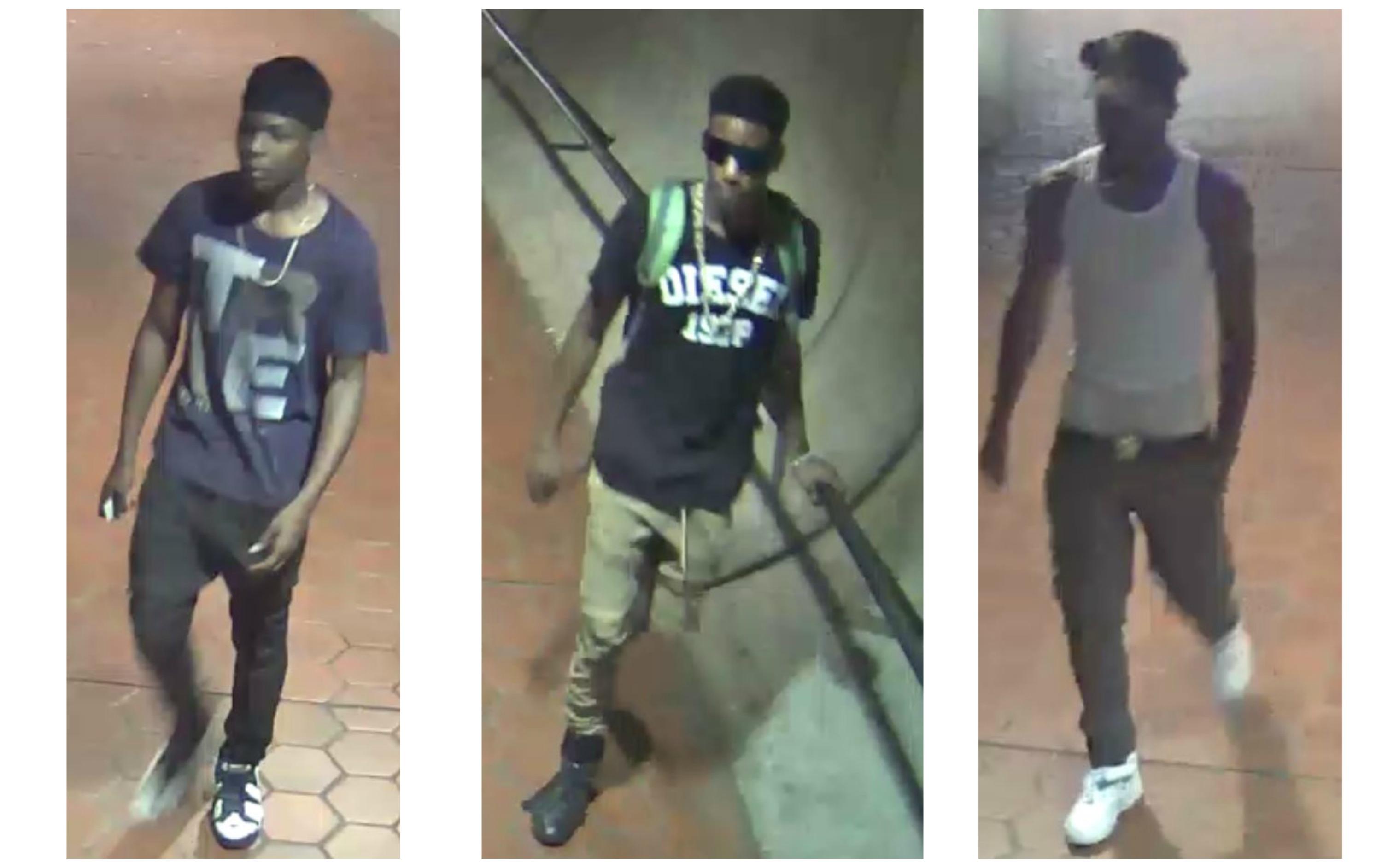 Persons of Interest in Metro Shooting (Courtesy: Metro Transit Police)